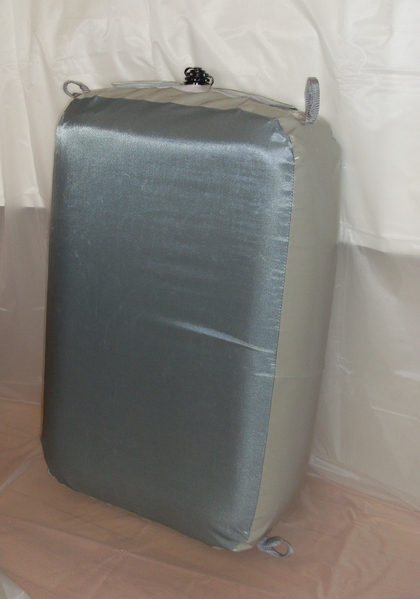20x60x60, Defensa hinchable con funda de Cordura(R)
